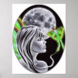 Luna Fairy Poster