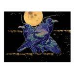 Luna fantasmagórica de los cuervos por Sharles Postal