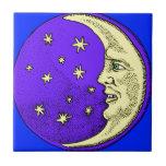 Luna feliz azulejos cerámicos
