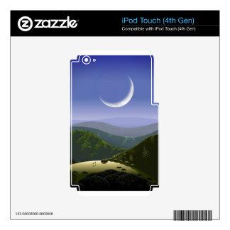 Luna High Rez.jpg iPod Touch 4G Skin