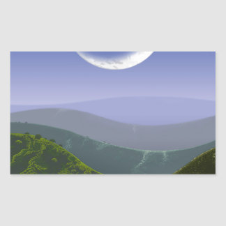 Luna High Rez.jpg Rectangular Sticker