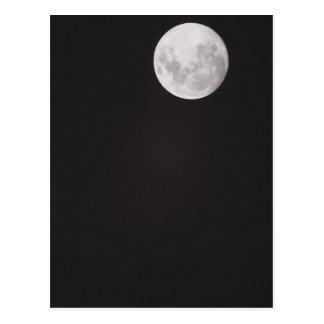 Luna infrarroja tarjeta postal