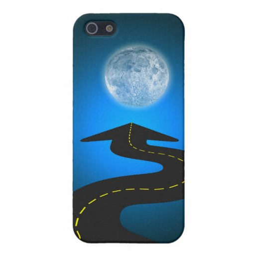 Luna iPhone 5 Cárcasas