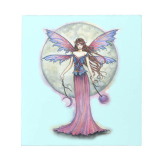 Luna Jewel Fairy Notepad