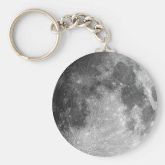 Luna Llavero Redondo Tipo Pin