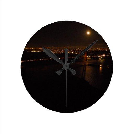 Luna Llena de Briddge del Golden Gate Relojes