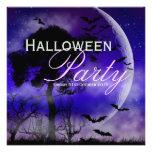 Luna Llena de Halloween y invitación de Nightsky d