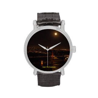 Luna Llena de San Francisco Relojes De Mano