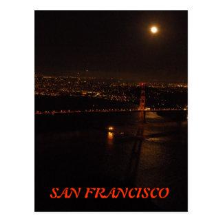 Luna Llena de San Francisco Postales