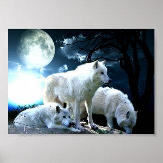Luna llena del lobo posters