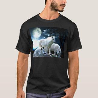 Luna llena del lobo playera