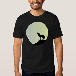 Luna Llena del lobo Remeras