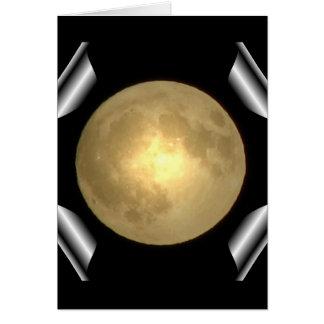 Luna Llena (efecto especial de la página de la vue Tarjeta De Felicitación