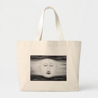 Luna Llena el dormir de Diana (realismo surrealist Bolsa