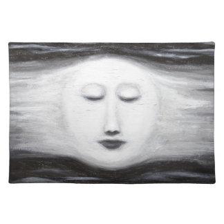 Luna Llena el dormir de Diana (realismo surrealist Mantel Individual