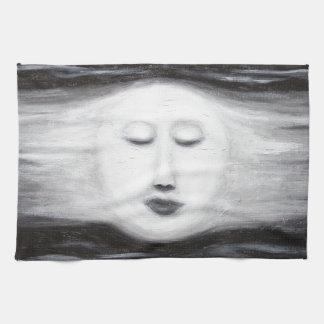 Luna Llena el dormir de Diana (realismo surrealist Toallas De Mano