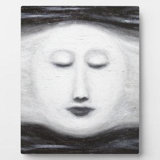 Luna Llena el dormir de Diana (realismo surrealist Placa De Plastico