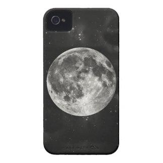 Luna Llena en el cielo Case-Mate iPhone 4 Fundas