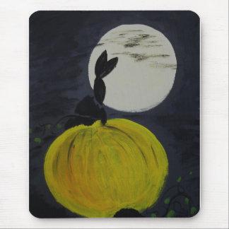 Luna Llena en el remiendo de la calabaza Tapetes De Ratones