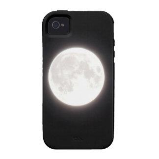 Luna Llena en invierno Case-Mate iPhone 4 Funda