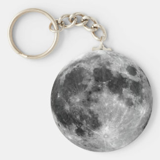 Luna Llena Llavero Personalizado