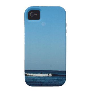 LUNA LLENA MRN SURF iPhone 4 CARCASA