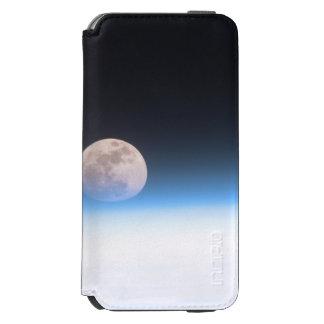 Luna Llena obscurecida parcialmente por la Funda Billetera Para iPhone 6 Watson