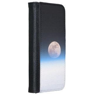 Luna Llena obscurecida parcialmente por la Funda Cartera Para iPhone 6