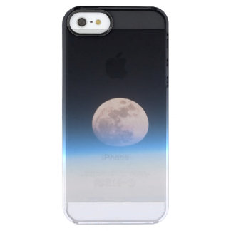 Luna Llena obscurecida parcialmente por la Funda Clearly™ Deflector Para iPhone 5 De Uncommon