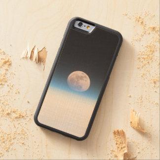 Luna Llena obscurecida parcialmente por la Funda De iPhone 6 Bumper Arce