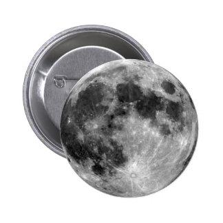 Luna Llena Pin Redondo 5 Cm