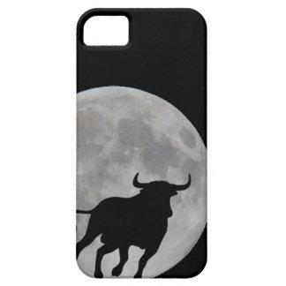 Luna Llena - Toro Bravo Corriendo - M1 iPhone 5 Cárcasa