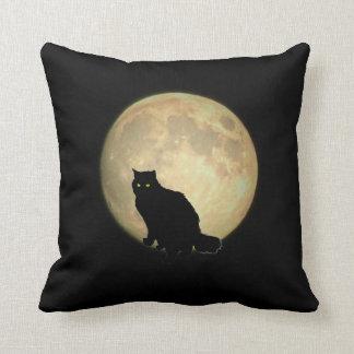 Luna Llena tres felinos Almohada