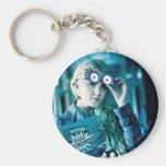 Luna Lovegood Basic Round Button Keychain