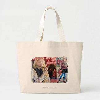 Luna Lovegood Montage Large Tote Bag