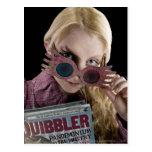Luna Lovegood Peeks Over Glasses Post Cards