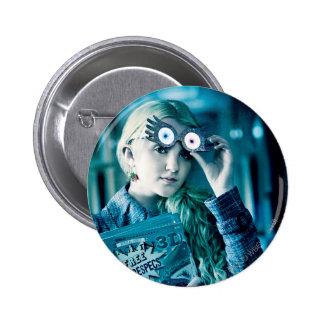 Luna Lovegood Pin Redondo De 2 Pulgadas