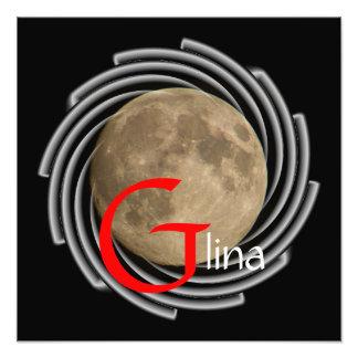 Luna Lune Luna Glina Moon póster Fotos