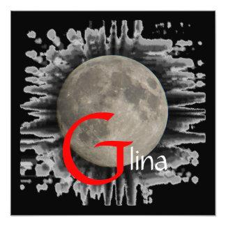 Luna Lune Luna Glina Moon póster Arte Fotográfico