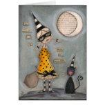 Luna mágica - tarjeta de felicitación