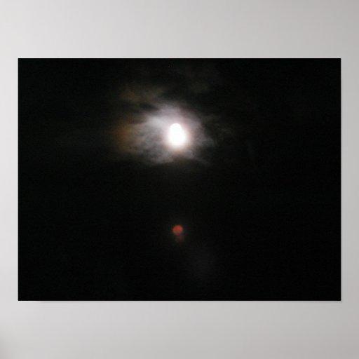 Luna mística impresiones