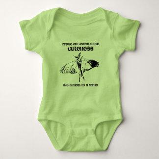 Luna Moth Baby Bodysuit