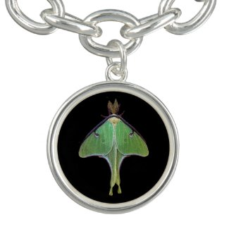 Luna Moth Bracelets