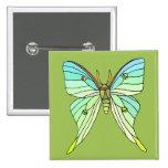 Luna Moth Button