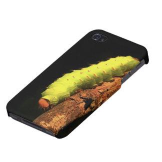 Luna Moth Caterpillar iPhone 4 Case