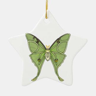 Luna Moth Ceramic Ornament