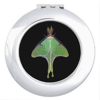 Luna Moth Compact Mirror
