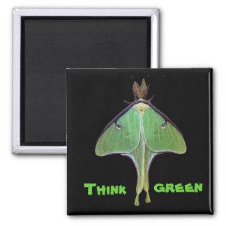 Luna Moth Earth Day Refrigerator Magnet