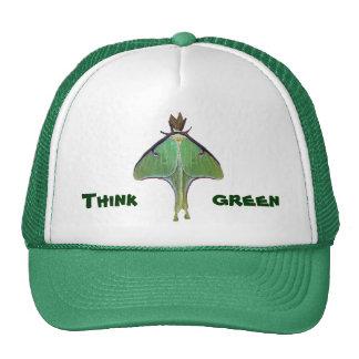Luna Moth Earth Day Trucker Hat