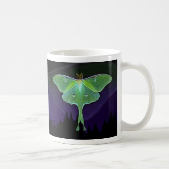 Luna Moth Graphic Mug